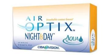 Air Optix Night & Day Aqua 6 Contact Lenses